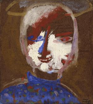 Autoportrait ou Tête au nimbe, 1911