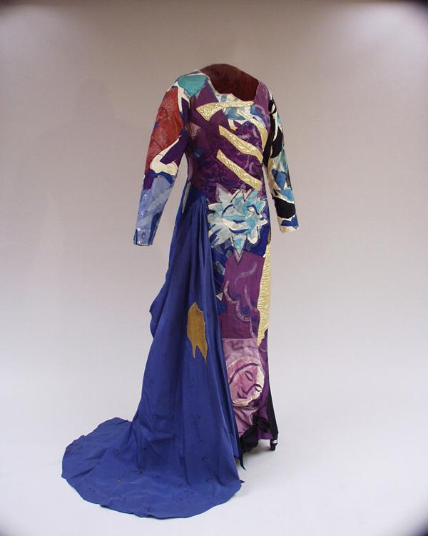Costume pour La Flûte enchantée de Mozart : la Reine de la nuit