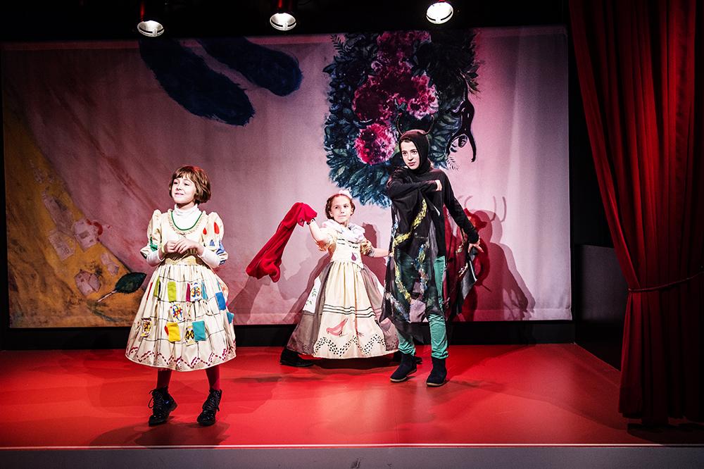 Photo du petit théâtre de Chagall