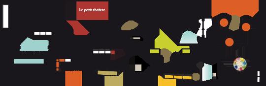 Plan de la galerie-atelier