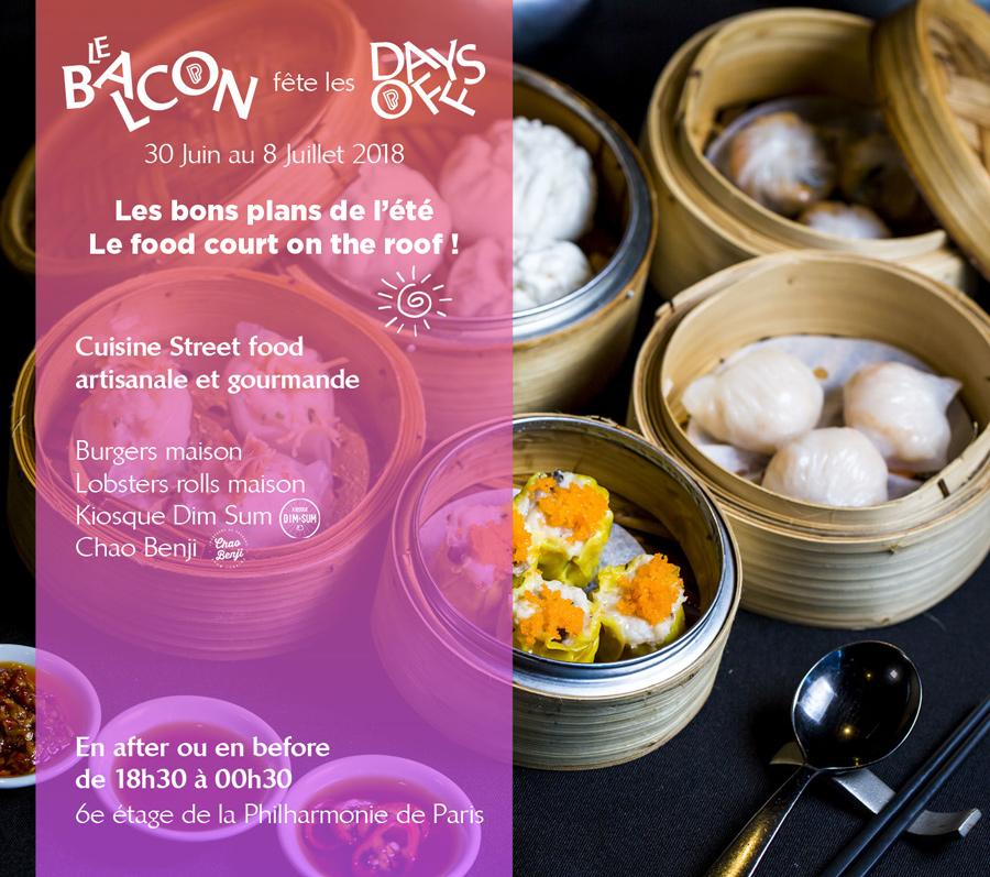 Le Balcon - Food