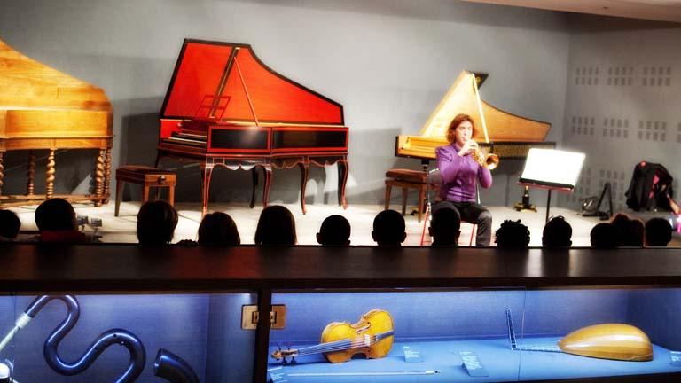 Musicien au Musée