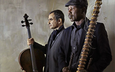 Photo Ballaké Sissoko & Vincent Segal