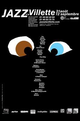 Affiche Jazz à la Villette 2010