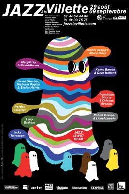 Affiche Jazz à la Villette 2012