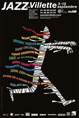 Affiche Jazz à la Villette 2013
