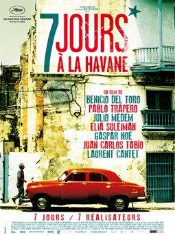 Affiche film 7 jours à La Havane