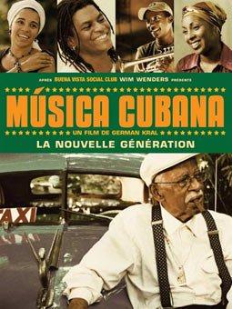 Affiche film Musica Cubana