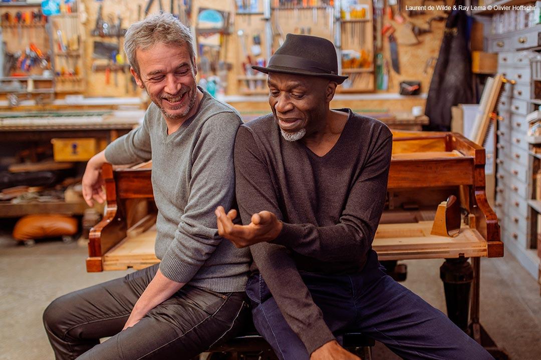 Laurent de Wilde & Ray Lema © Olivier Hoffschir