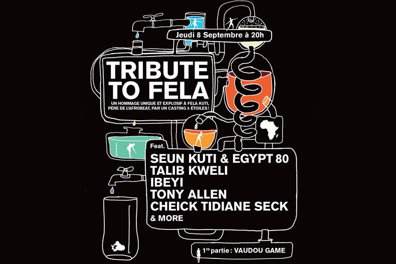Visuel de la soirée Tribute to Fela