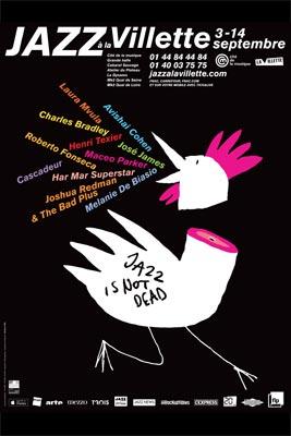 Affiche Jazz à la Villette 2014