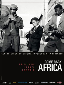 Affiche film Come back, Africa