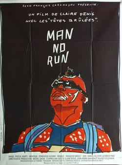Affiche film Man No Run