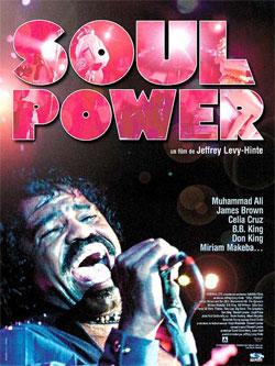 Affiche film Soul Power