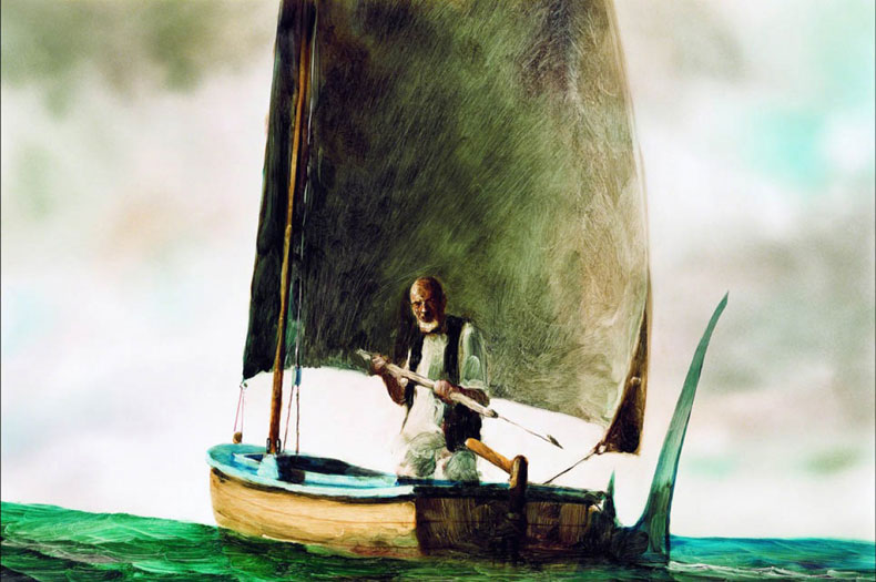 Le Vieil homme et La Mer © Pascal Blais Studio
