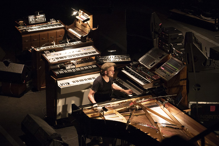 Nils Frahm à la Philharmonie