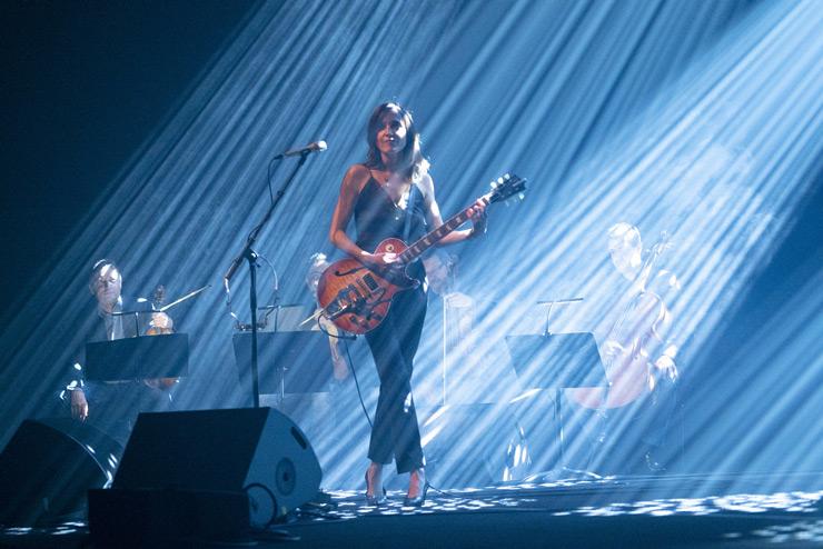 Keren Ann & Quatuor Debussy à la Cité de la musique