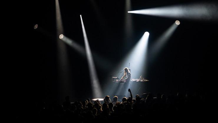 Flavien Berger à la Cité de la musique