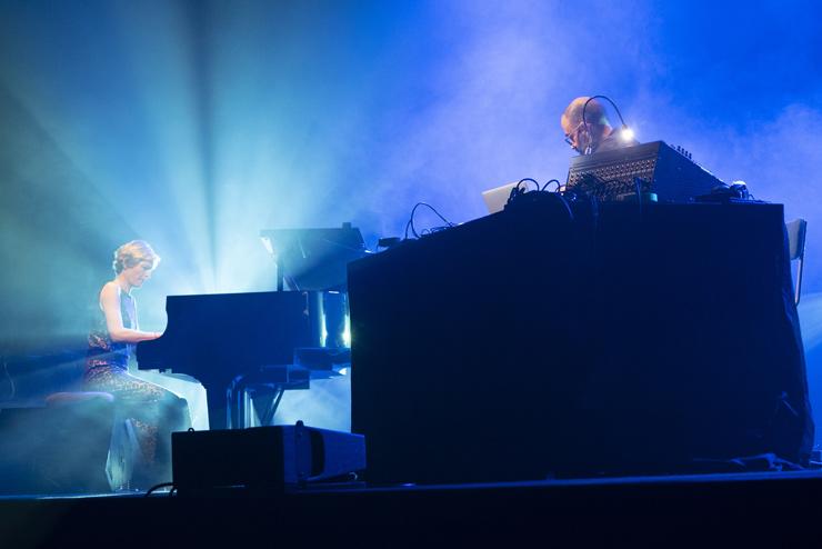 Vanessa Wagner & Murcof à la Cité de la musique