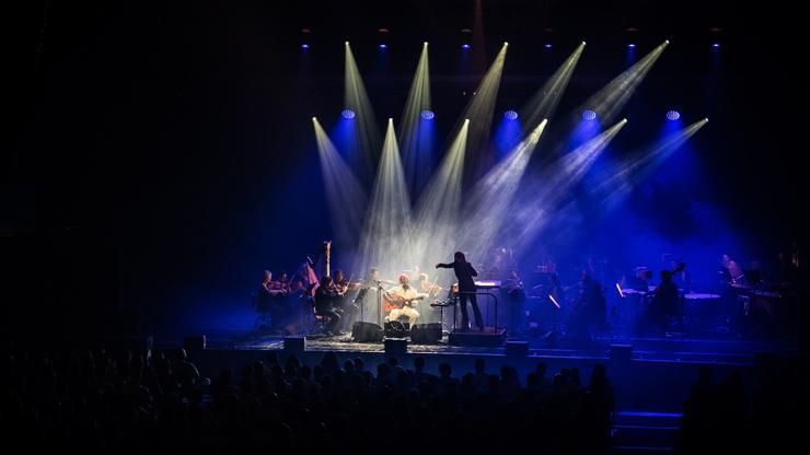 Seu Jorge et l'Orchestre national d'Île-de-France à la Philharmonie