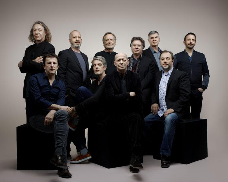 Photo des 10 chefs de l'ONJ